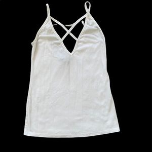 Forever 21 White Tank Top (S)